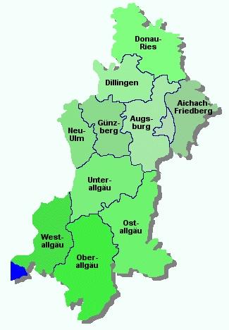 Allgau Landkarte